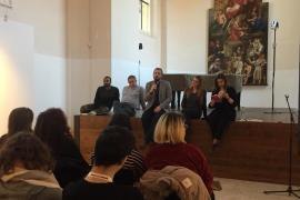 Zleva: David Diop, Giovanni Sciola, Andreas Pieralli, Donatella Sasso