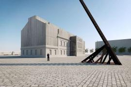 Nová podoba Památníku ticha se sochou Brána nenávratna od sochaře Aleše Veselého