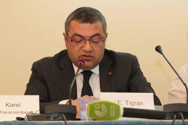 J.E. Tigran Seiranian, velvyslanec Arménské republiky v Praze
