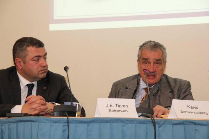J.E. Tigran Seiranian, Karel Schwarzenberg