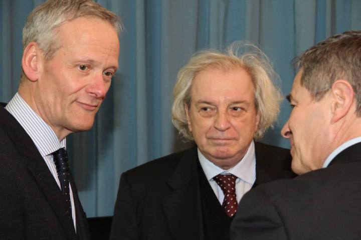Cyril Svoboda, Antonio Ferrari, Giovanni Sciola