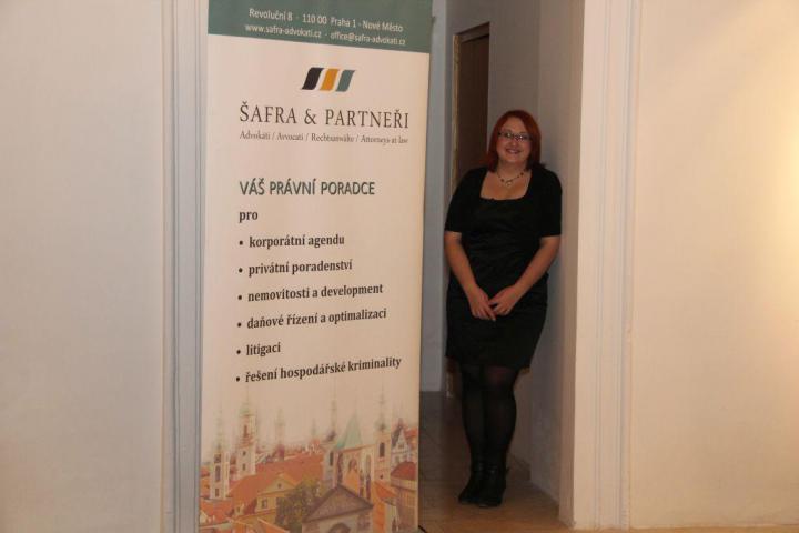 Sponsor konference Šafra & partneři s.r.o. advokátní kancelář, Alena Válková