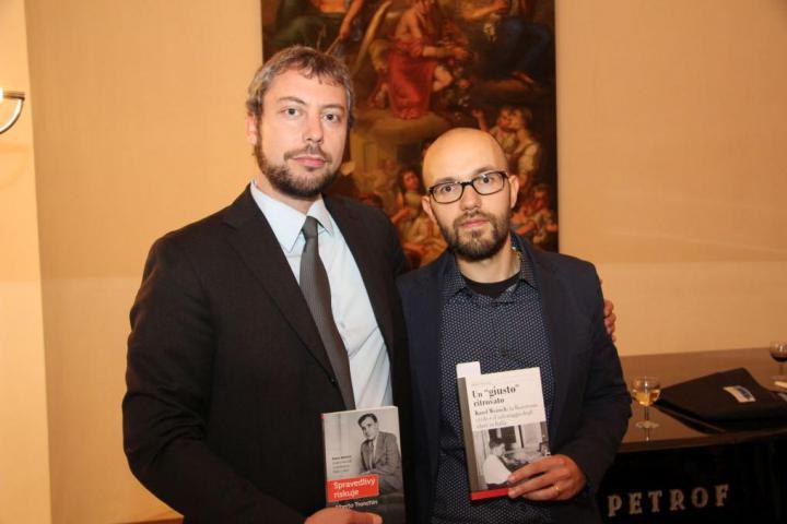 Andreas Pieralli, Alberto Tronchin
