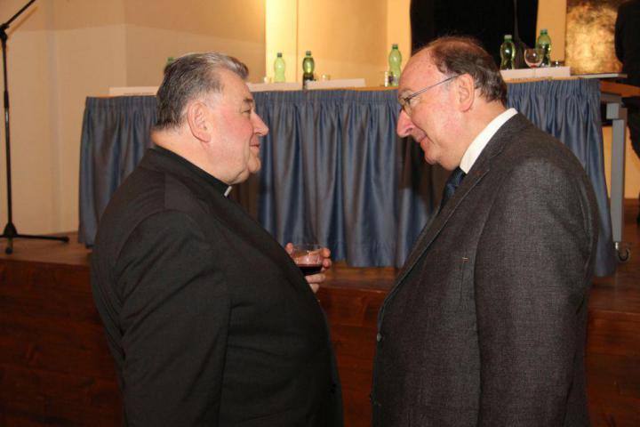 Kardinál Dominik Duka OP, Francesco Leoncini