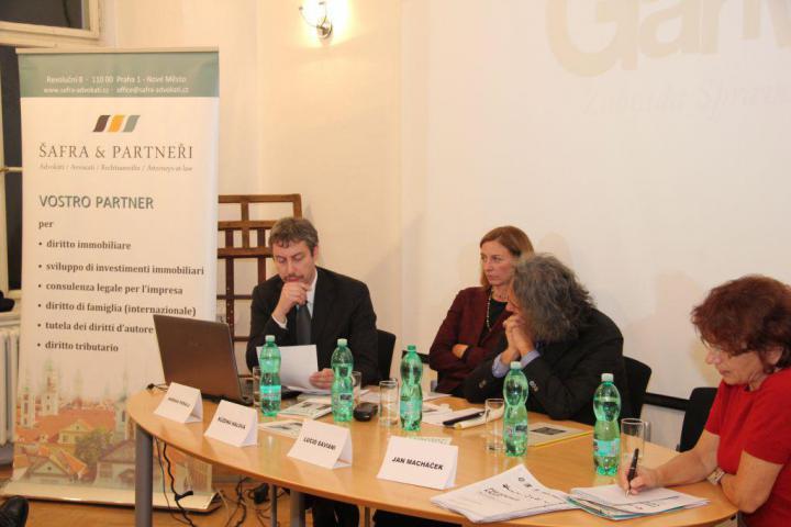 Andreas Pieralli, Růžena Hálová, Lucio Saviani, Helena Giordanová