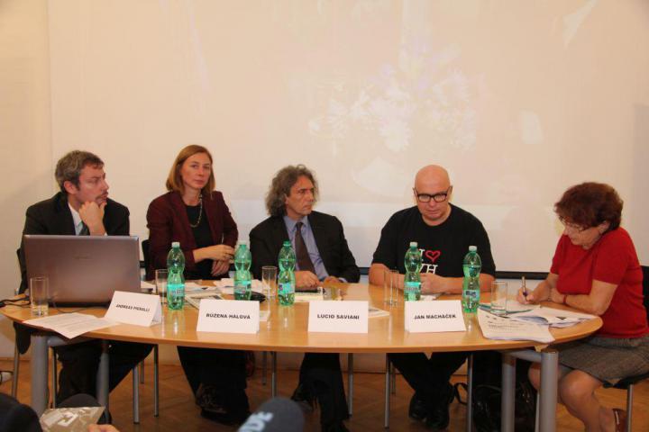 Andreas Pieralli, Růžena Hálová, Lucio Saviani, Jan Macháček, Helena Giordanová