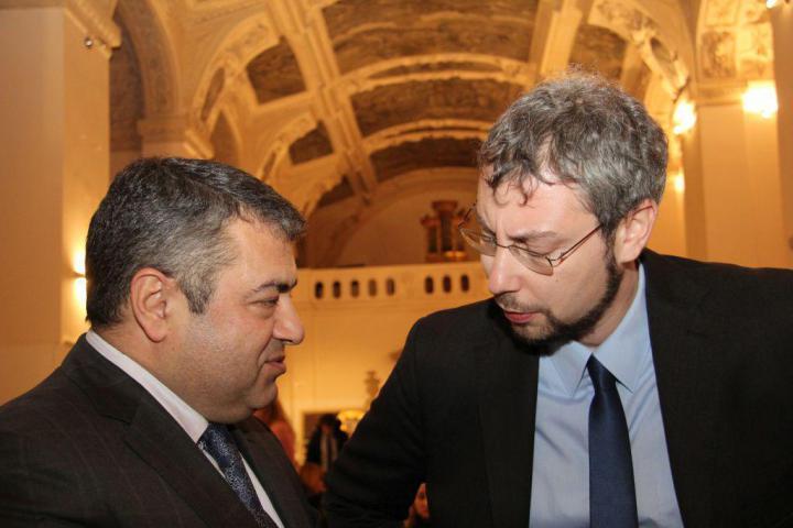 H.E. Tigran Seiranian, Andreas Pieralli